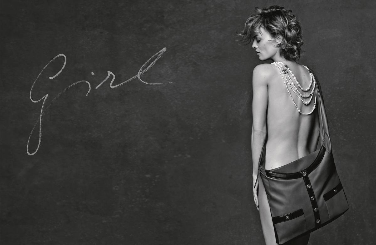 Chanel Campagne 3 girls, 3 bags_Vanessa Paradis