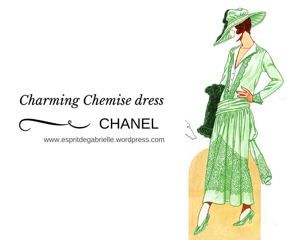 Chanel 's charming chemise dress 1916 Biarritz Esprit de Gabrielle jeronimodiparigi-dev-esprit-de-gabrielle.pf1.wpserveur.net