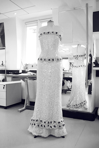 Chanel Haute Couture robe Julianne Moore Oscars 2015 Esprit de Gabrielle espritdegabrielle.com