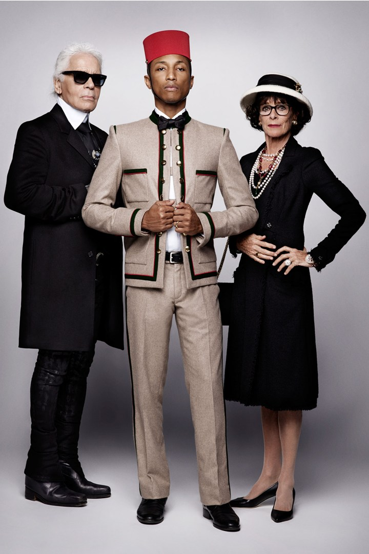 Chanel Paris Salzburg Lagerfeld Pharell Williams Esprit de Gabrielle