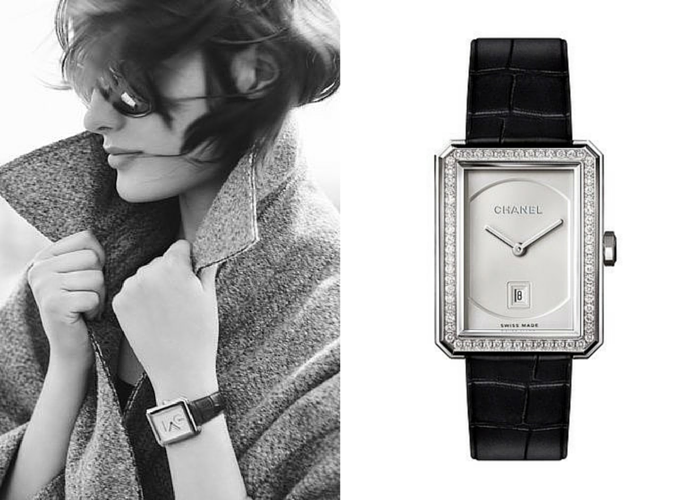 CHANEL collection horlogerie montre boy.friend Esprit de Gabrielle espritdegabrielle.com