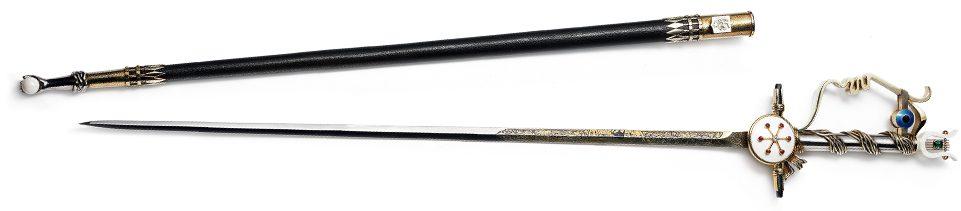 Jean Cocteau épée académicien Esprit de Gabrielle