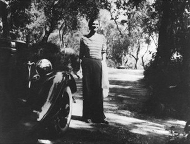 Coco Chanel à La Pausa Roquebrune espadrille Chanel Esprit de Gabrielle espritdegabrielle.com
