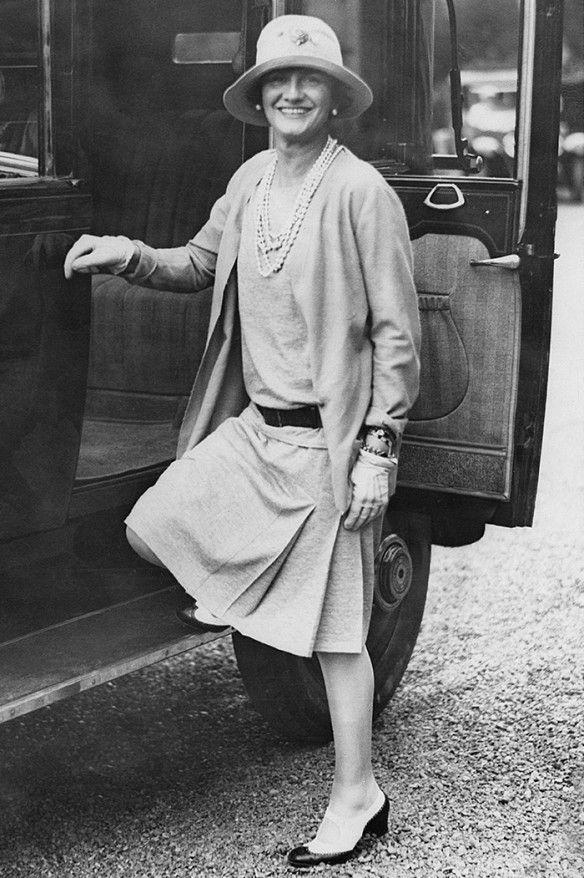 Gabrielle Chanel à Biarritz 1920 Esprit de Gabrielle espritdegabrielle.com