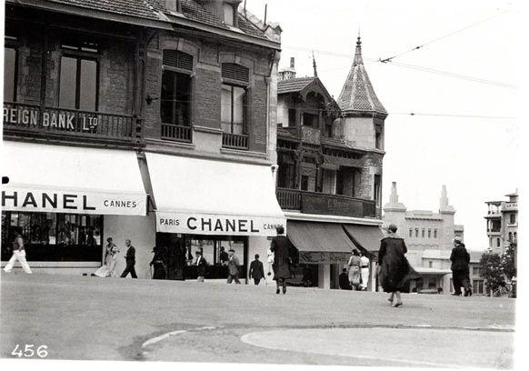 Boutique Chanel à Biarritz 1915 L'Esprit de Gabrielle