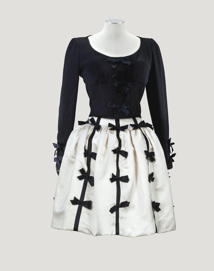 Chanel Haute Couture Faux deux pièces 1994 L'Esprit de Gabrielle