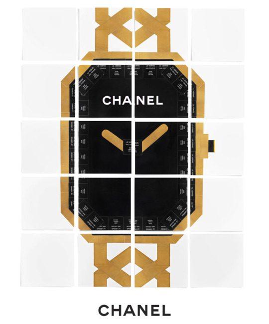 La montre Première en black boxes Chanel Makeup L'Esprit de Gabrielle