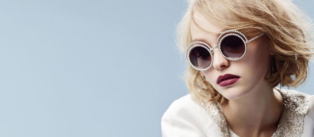 Chanel lunettes Lily-Rose Depp Esprit de Gabrielle