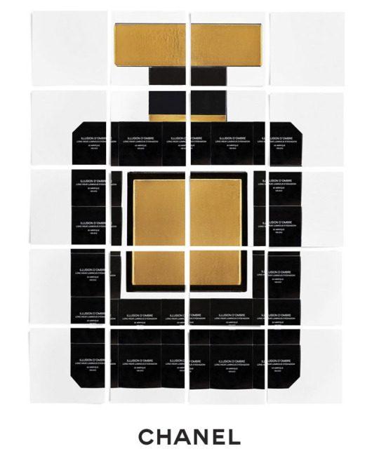 N°5 en black boxes Chanel Makeup L'Esprit de Gabrielle