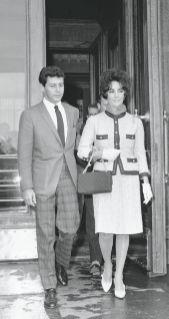 Elizabeth Taylor Tailleur Chanel haute couture 1960 L'Esprit de Gabrielle