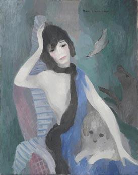 Mademoiselle Chanel par Marie Laurencin 1923 Esprit de Gabrielle jeronimodiparigi-dev-esprit-de-gabrielle.pf1.wpserveur.net