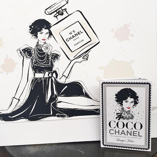 Coco Chanel Megan Hess Esprit de Gabrielle espritdegabrielle.com