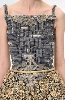 Chanel HC AW 2014-15 robe en béton Esprit de Gabrielle espritdegabrielle.com