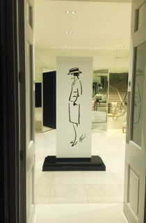 Chanel Mademoiselle Privé exhibition entrance 1