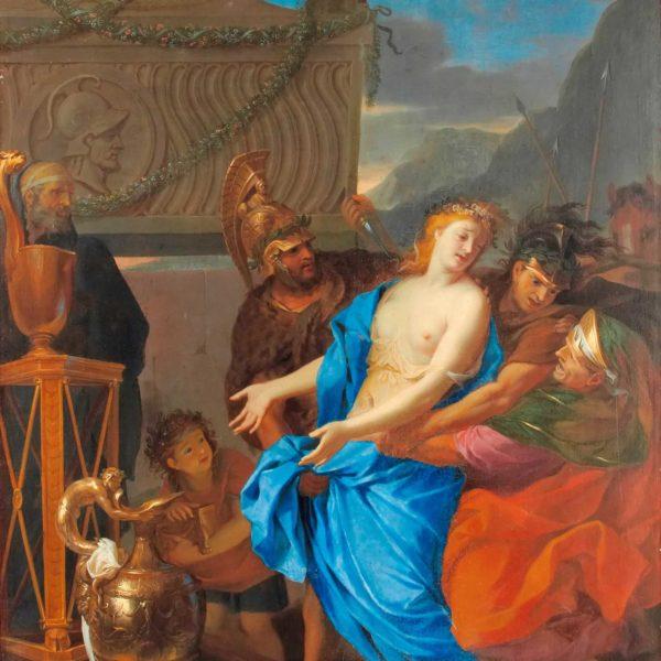 Un chef-d'œuvre de Charles Le Brun dans la suite de Gabrielle Chanel au Ritz