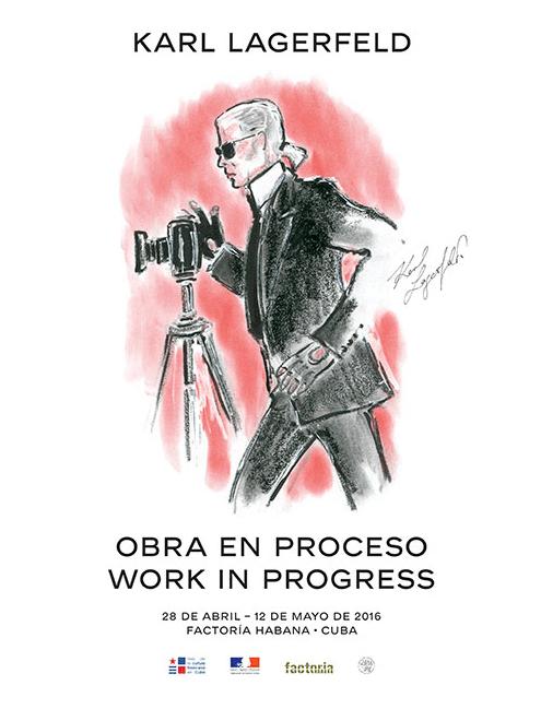 Obra en Proceso Work in Progress expo Karl Lagerfeld Chanel à Cuba