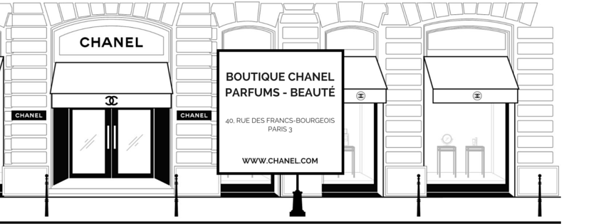 Boutique Chanel Parfums - Beauté rue des Francs-Bourgeois Esprit de Gabrielle jeronimodiparigi-dev-esprit-de-gabrielle.pf1.wpserveur.net