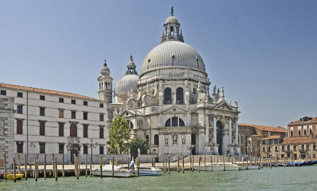 Basilique Santa Maria Della Salute Venise Esprit de Gabrielle espritdegabrielle.com