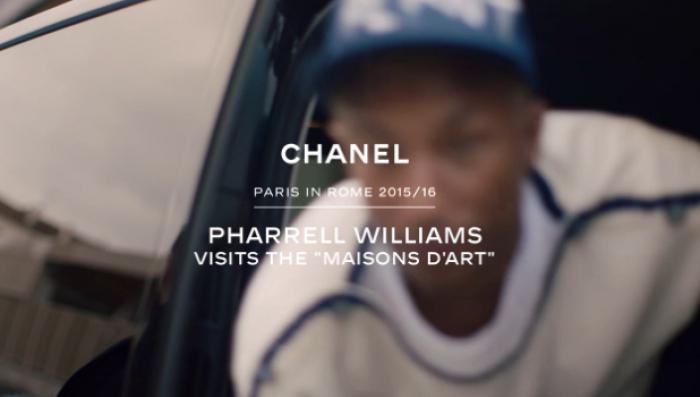 Pharell Williams ateliers métiers d'art Chanel Paris in Rome Esprit de Gabrielle jeronimodiparigi-dev-esprit-de-gabrielle.pf1.wpserveur.net