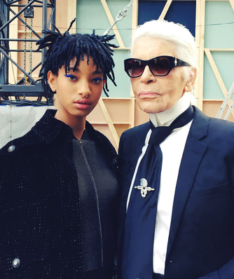 Chanel Karl Lagerfeld Willow Smith Esprit de Gabrielle espritdegabrielle.com