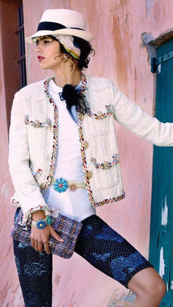CHANEL Cruise Croisière Cuba Petite veste blanche Esprit de Gabrielle espritdegabrielle.com