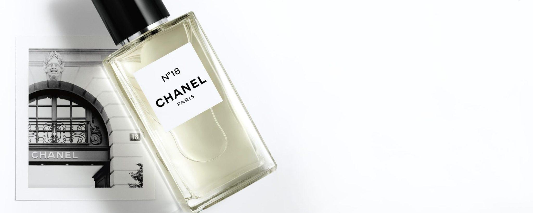 Chanel Les Exclusifs N°18 eau de parfum Esprit de Gabrielle espritdegabrielle.com