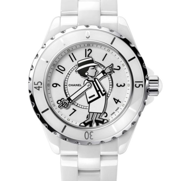 «Mademoiselle J12», la nouvelle montre collector de CHANEL