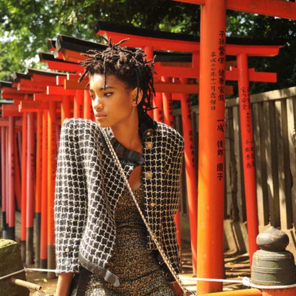 Willow Smith visite Tokyo avec son sac GABRIELLE