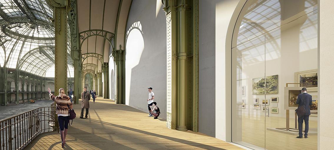 Nouveau Grand Palais balcons de la nef Esprit de Gabrielle espritdegabrielle.com