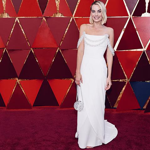 Margot Robbie Oscars 2018 CHANEL Esprit de Gabrielle espritdegabrielle.com