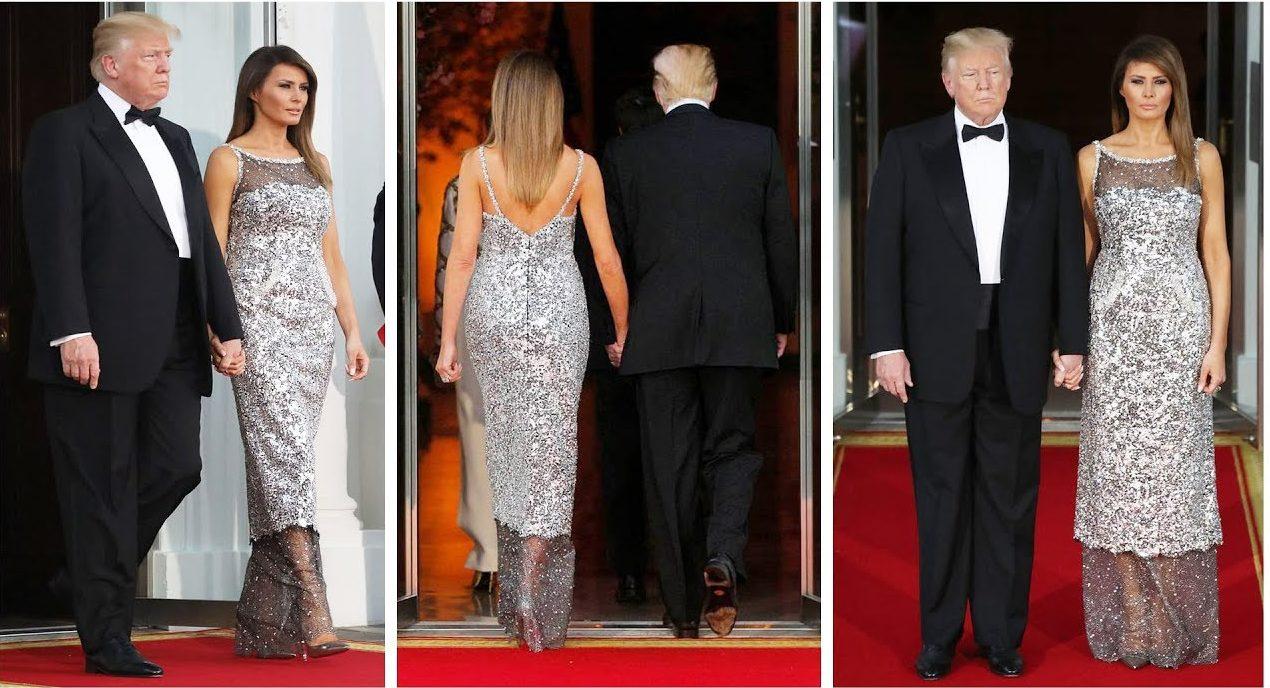 Mélania Trump CHANEL Esprit de Gabrielle espritdegabrielle.com