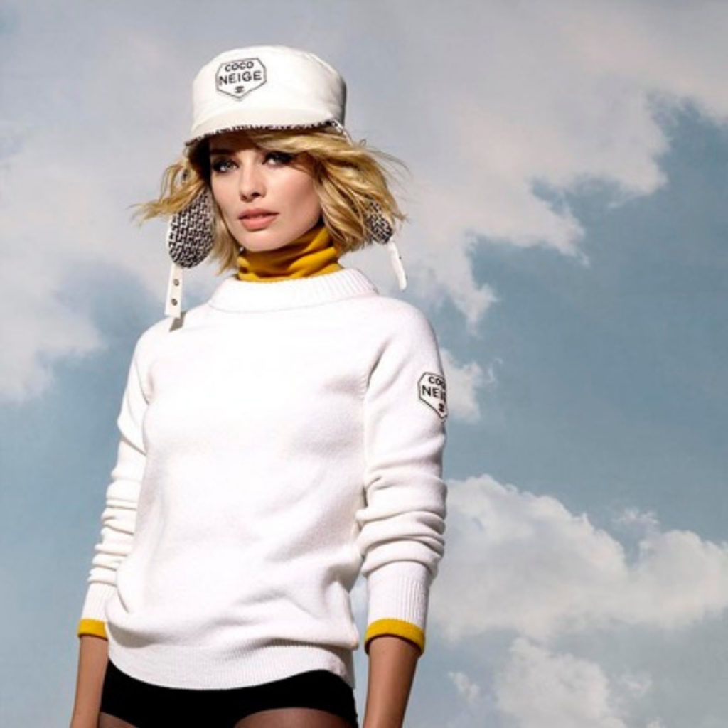 Chanel Coco Neige Margot Robbie Esprit de Gabrielle espritdegabrielle.com