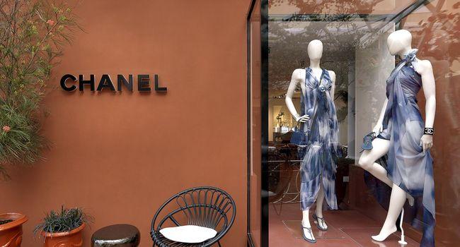 Boutique Chanel Capri 2018 Esprit de Gabrielle espritdegabrielle.com