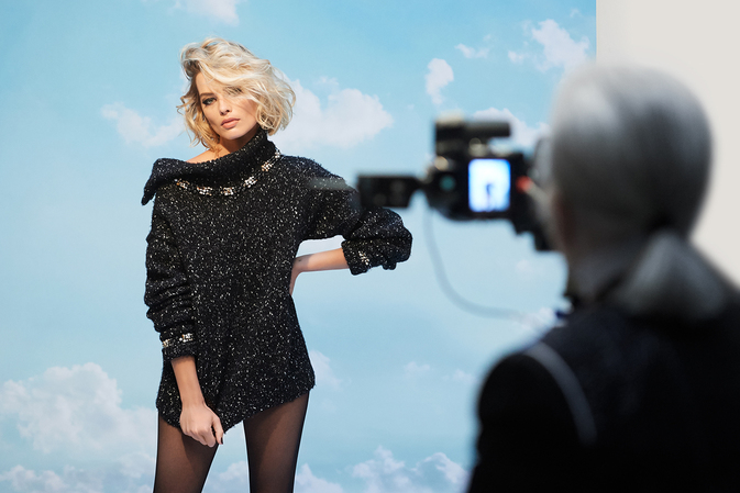 chanel coco neige collection campagne margot robbie esprit de gabrielle espritdegabrielle.com