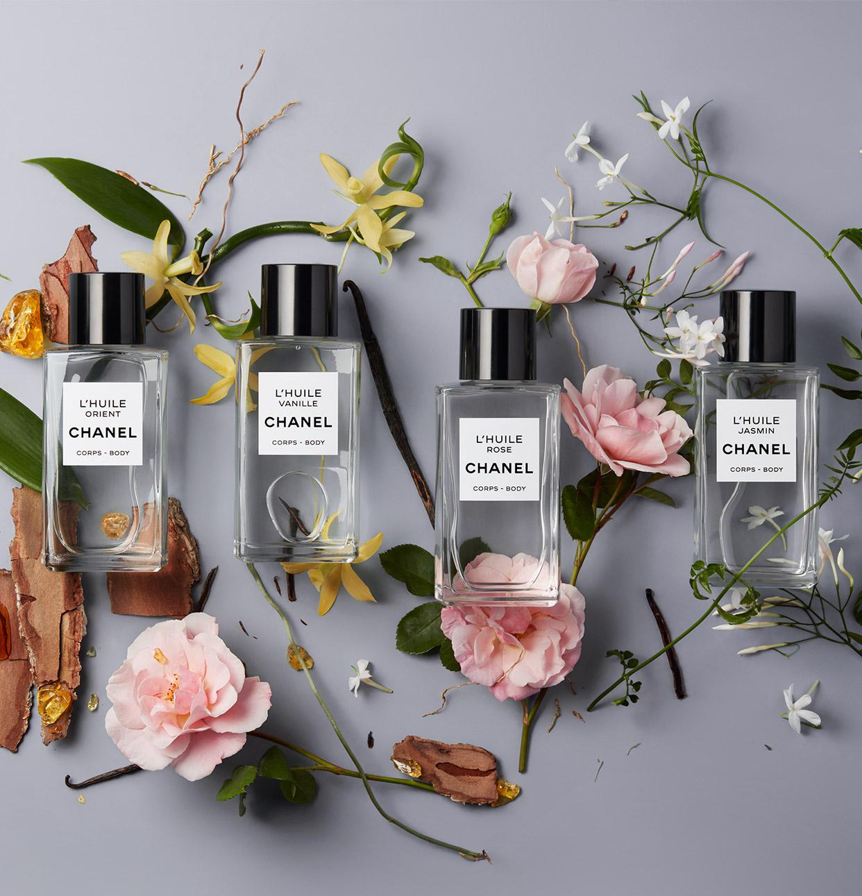 CHANEL huiles pour le corps Esprit de Gabrielle espritdegabrielle.com