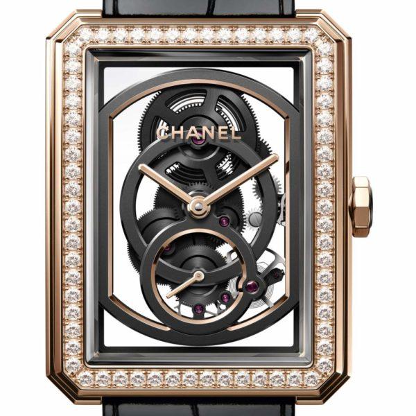 CHANEL remporte le Grand Prix d'Horlogerie de Genève pour la montre BOY·FRIEND Squelette