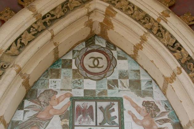 Château de Crémat emblème Esprit de Gabrielle espritdegabrielle.com