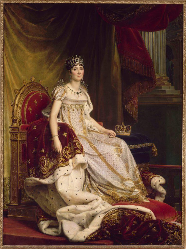 Impératrice Joséphine costume du couronnement Esprit de Gabrielle espritdegabrielle.com
