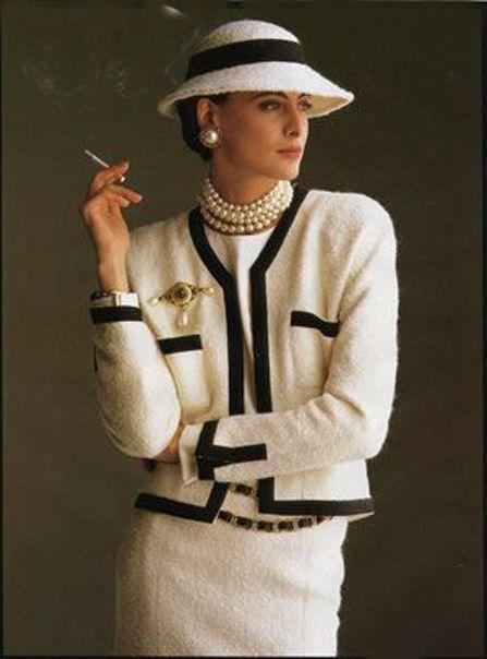 L'allure de Chanel Ines de la Fressange Esprit de Gabrielle espritdegabrielle.com