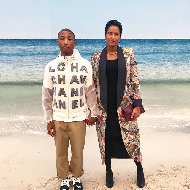Pharrell Williams défilé CHANEL Esprit de Gabrielle espritdegabrielle.com