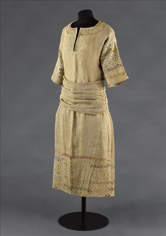 Robe d'été Paul Poiret 1912 Esprit de Gabrielle espritdegabrielle.com