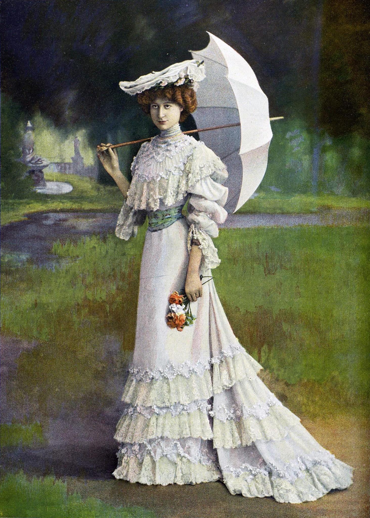 Robe de courses Redfern 1902 Esprit de Gabrielle espritdegabrielle.com
