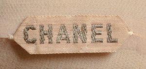 label Chanel haute couture 1955 Esprit de Gabrielle espritdegabrielle.com