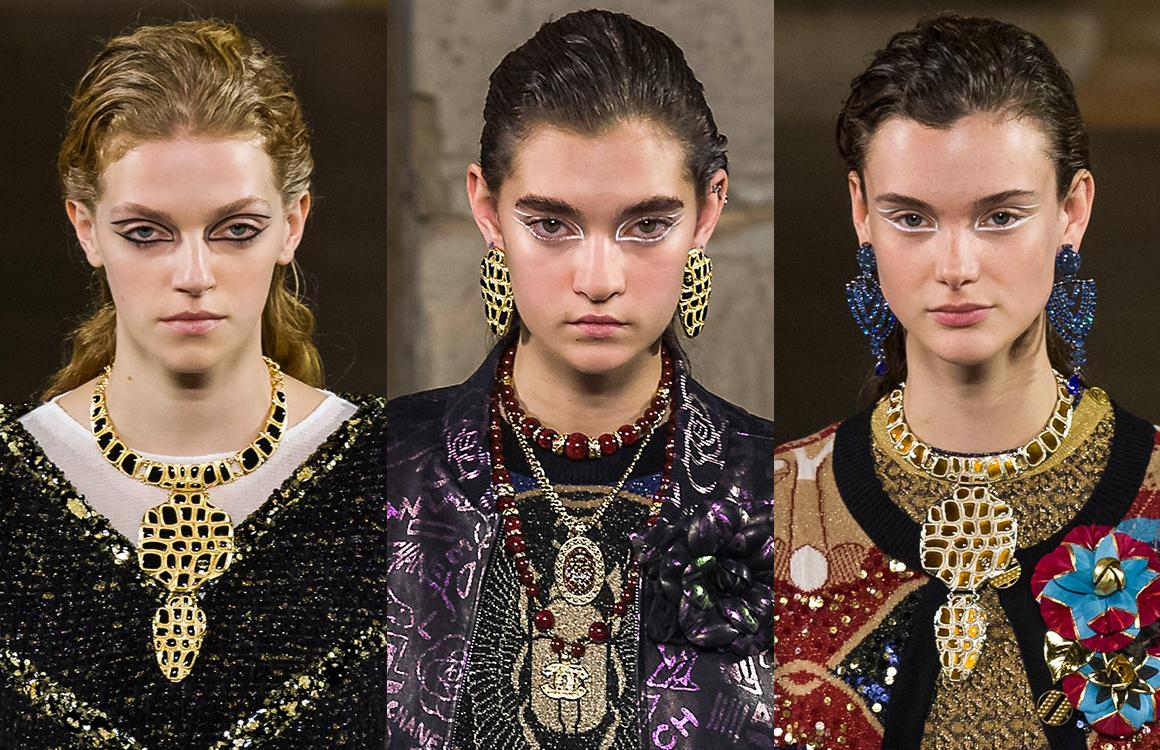 CHANEL Métiers d'art Paris New-York Bijoux impression croco Esprit de Gabrielle espritdegabrielle.com