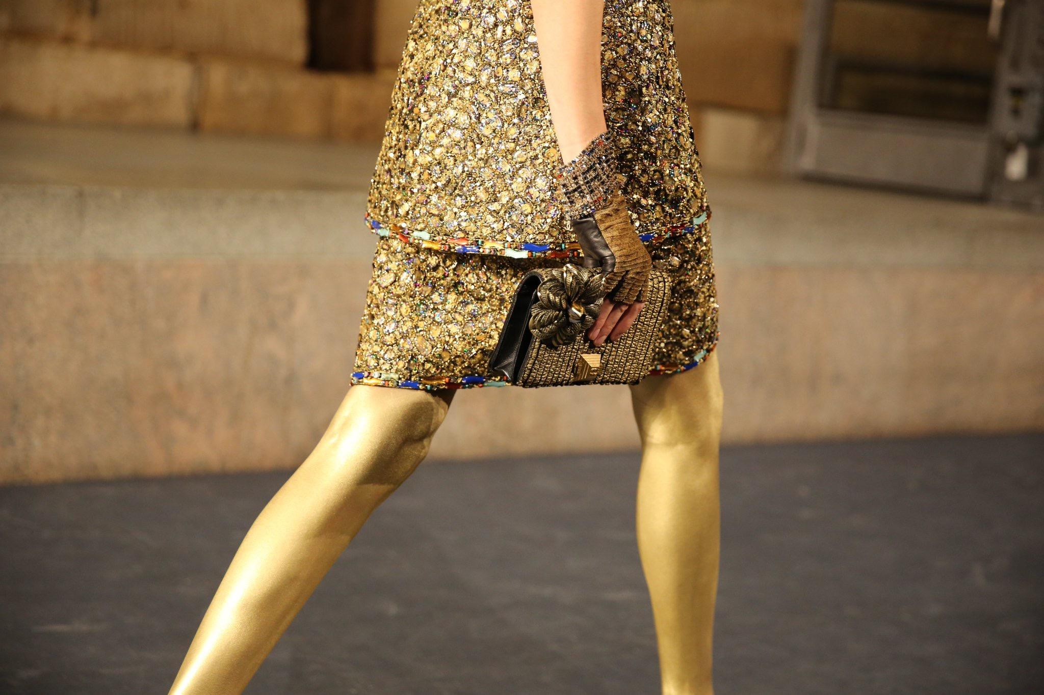 CHANEL Métiers d'art Paris New York Déclinaisons dorées Esprit de Gabrielle espritdegabrielle.com