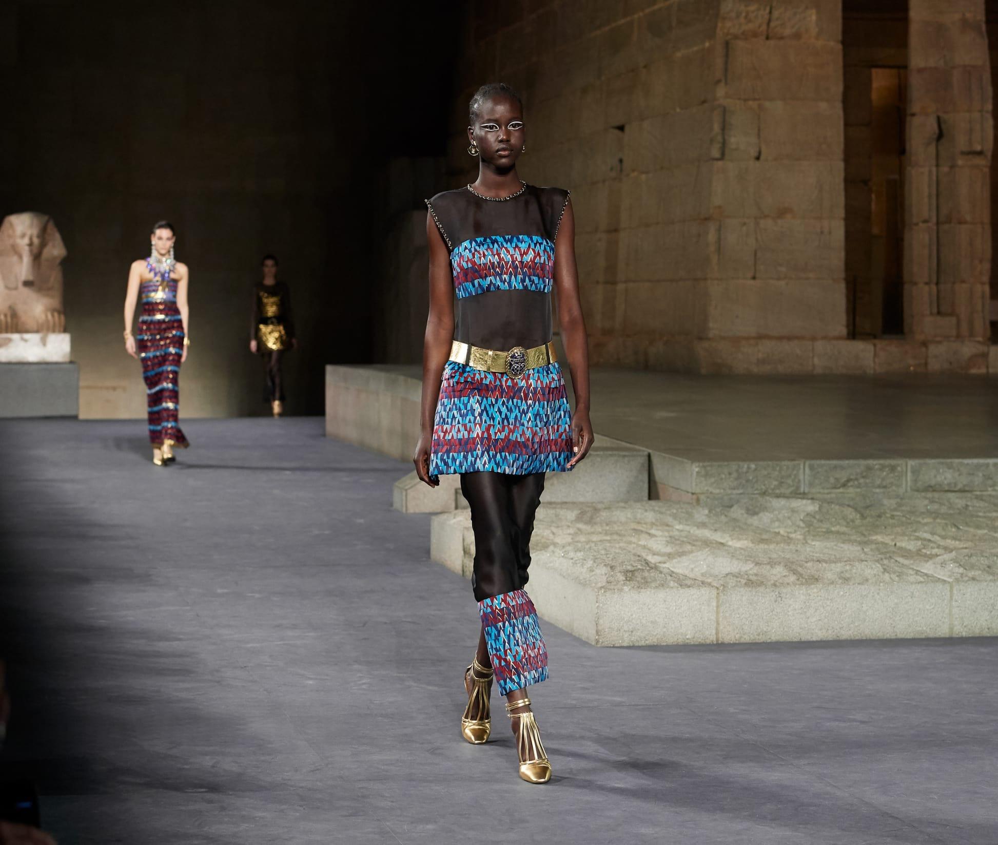 CHANEL Métiers d'art Paris New York Look 83 Esprit de Gabrielle espritdegabrielle.com