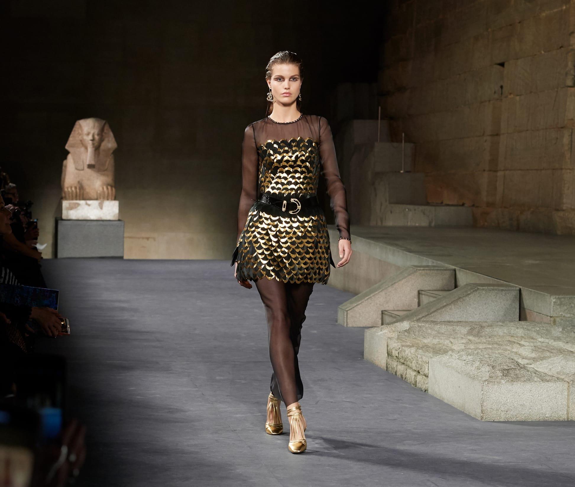 CHANEL Métiers d'art Paris New York Look 85 Esprit de Gabrielle espritdegabrielle.com