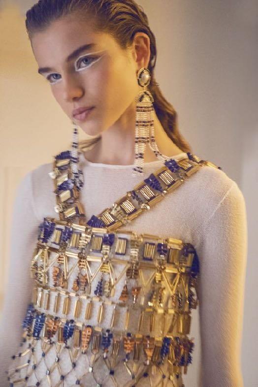 CHANEL Métiers d'art Paris New York Robe broderies Montex Esprit de Gabrielle espritdegabrielle.com