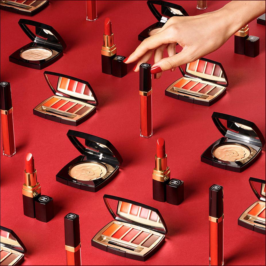 CHANEL NOËL 2018 La makeup addict Esprit de Gabrielle espritdegabrielle.com