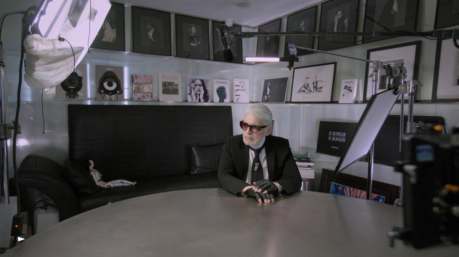 CHANEL Karl Lagerfeld sur Netflix 7 days out Esprit de Gabrielle espritdegabrielle.com